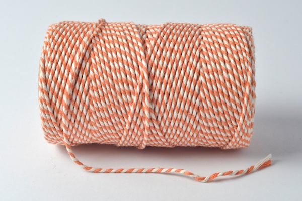 bakers twines orange and white original baker's twine range