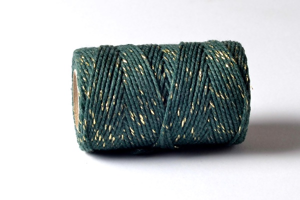 bakers twine green gold sparkle baker's twine range