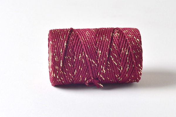 bakers twine sparkle range the burgundy and gold sparkle range