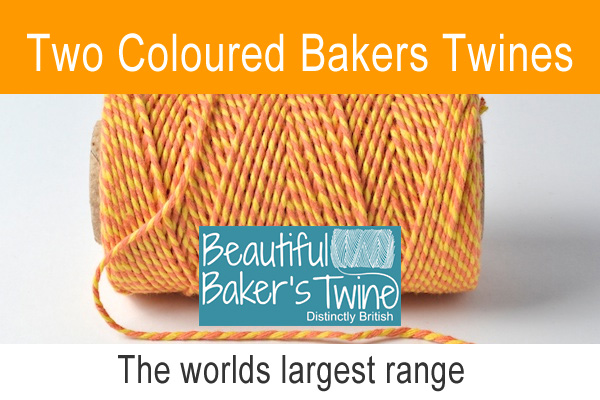 two colour cotton bakers twines