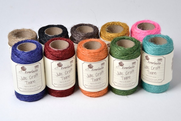 jute on spools