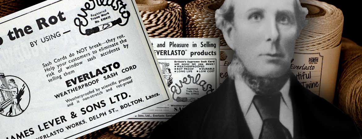 wholesale and manufacturers James Lever of  Beautiful Bakers Twine range history and further information