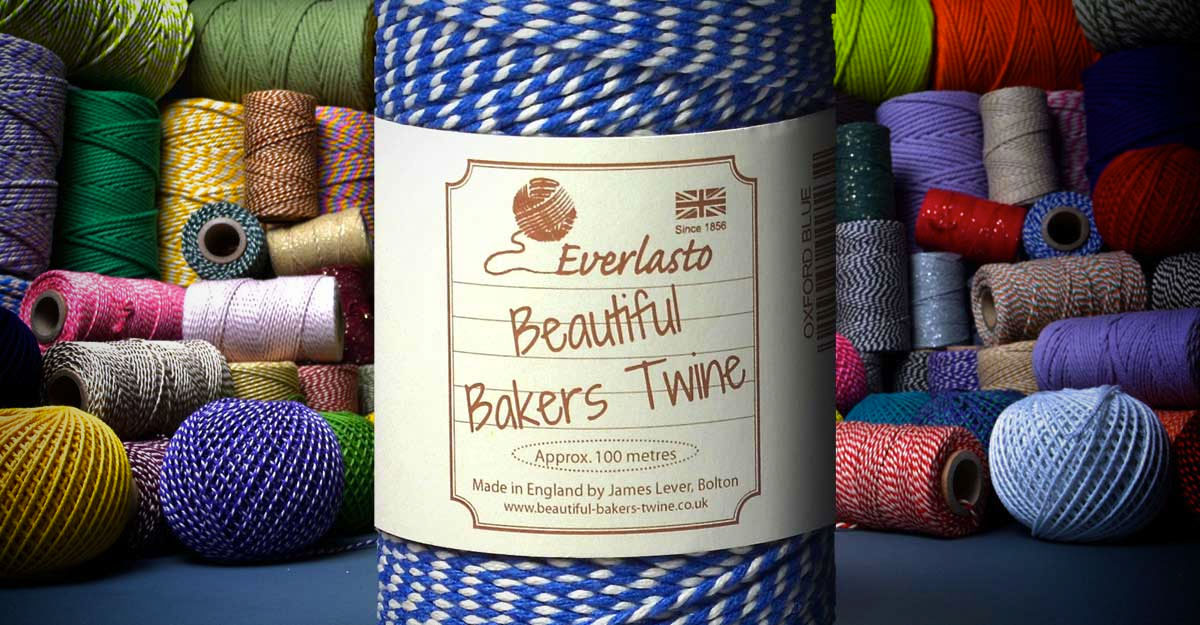 Bakers twine sales - beautiful bakers twine logo
